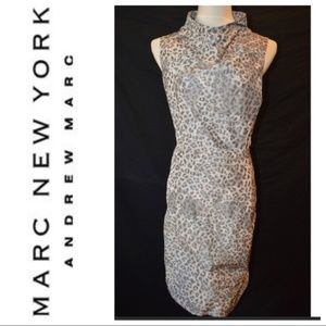 MARC New York Andrew Marc Leopard Print Dress 14